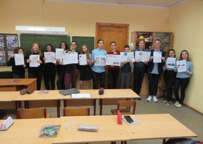 Deutschunterricht in Kostroma Februar 2020